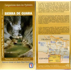 Carte canyon Sierra de Guara P. Gimat